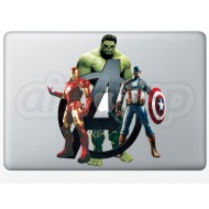 Avengers MacBook Decal 