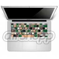 Camouflage MacBook Pro Keyboard Decal