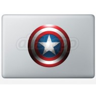 Captain America  MacBook Decal