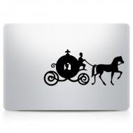 Princess Carriage MacBook Decal